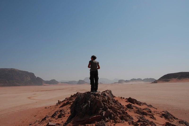 Não andar sozinho pelo deserto em Las Vegas