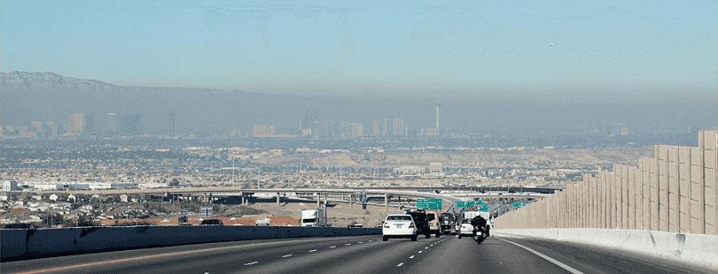 Poluição em Las Vegas