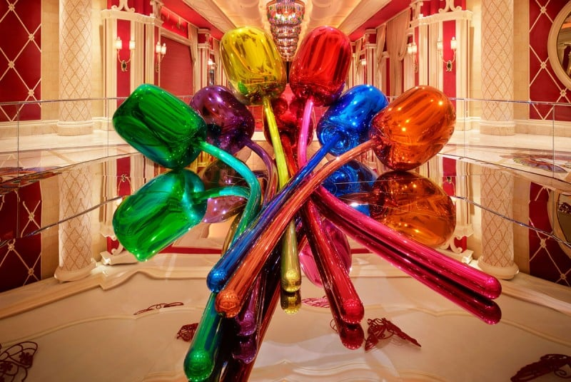 Esculturas do Wynn em Las Vegas