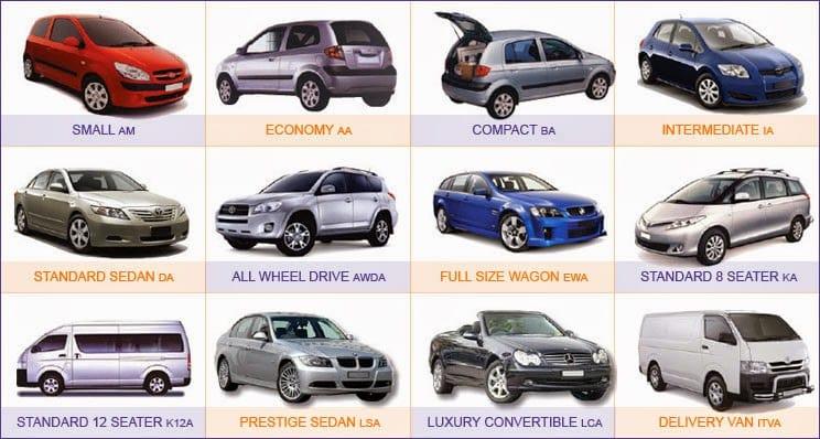 Qual modelo de carro escolher no aeroporto em Las Vegas