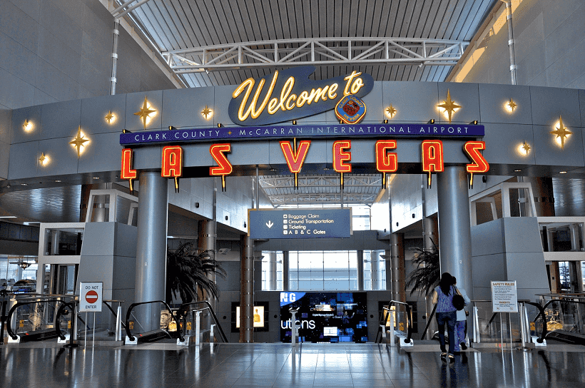 Aluguel de carro no aeroporto de Las Vegas