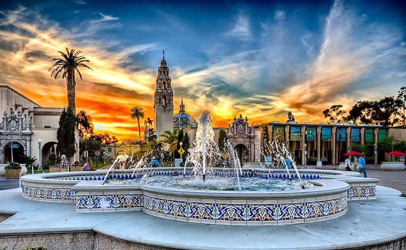 Conhecendo San Diego saindo de Las Vegas: parque Balboa Park