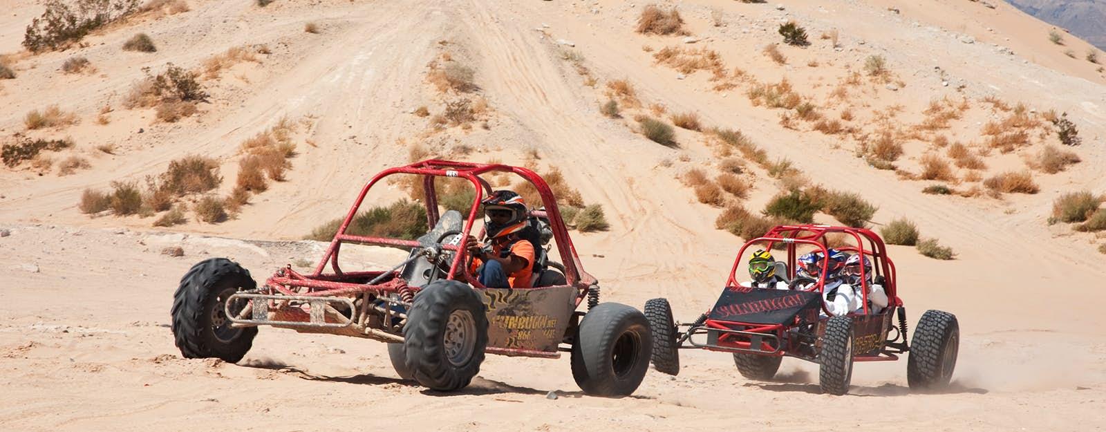 Passeio de buggy no deserto em Las Vegas