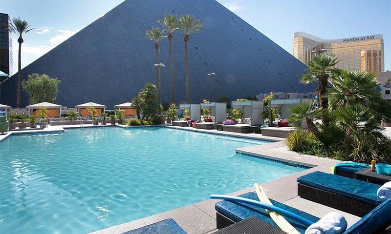 Hotel Luxor em Las Vegas