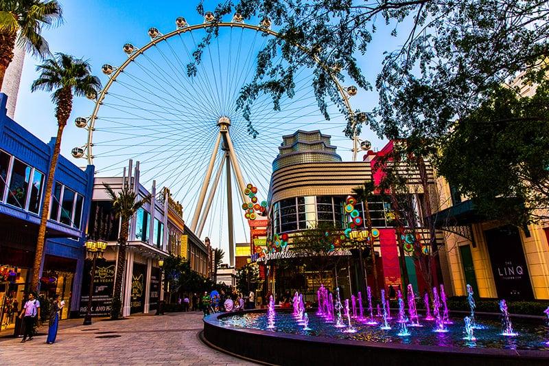 Dicas de Las Vegas: Complexo Linq
