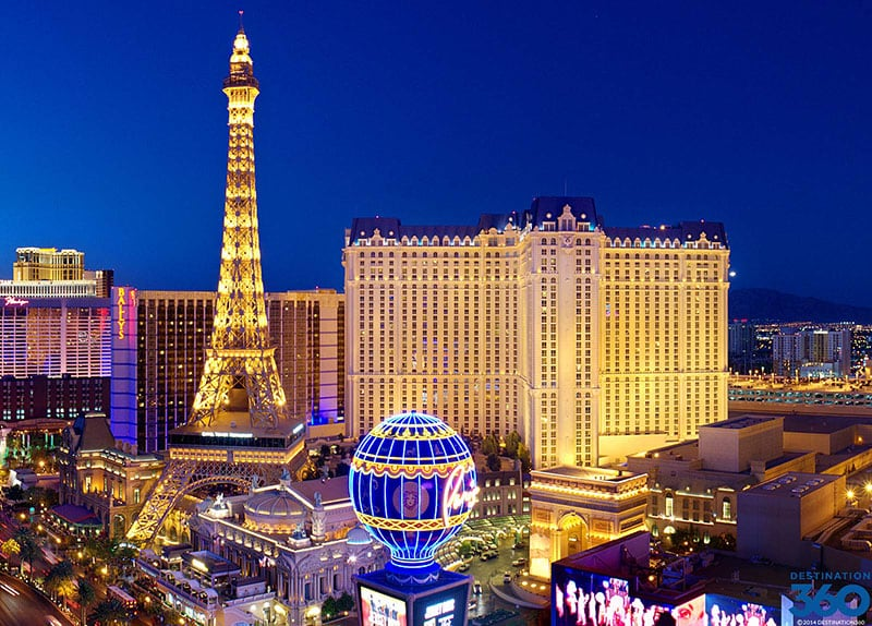 Las Vegas Strip - Hotel Paris