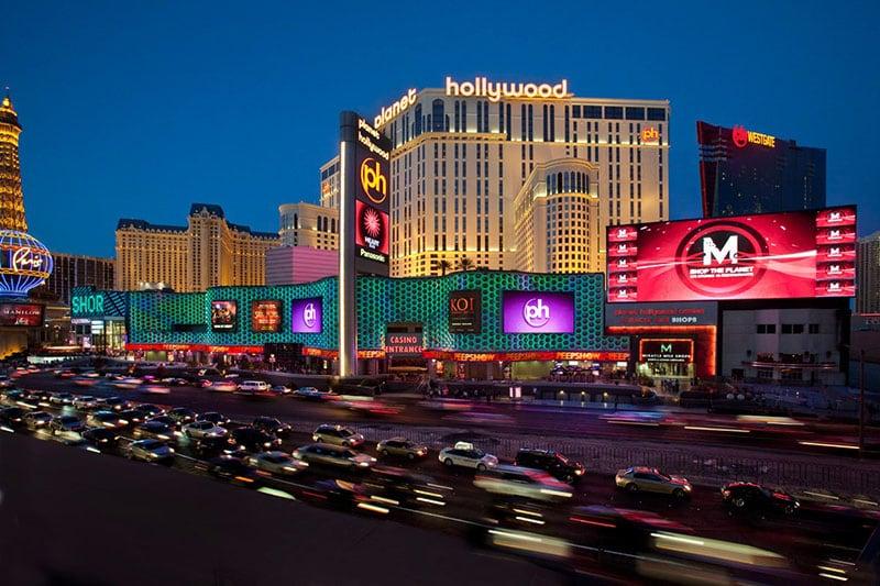 Hotel cassino Planet Hollywood em Las Vegas