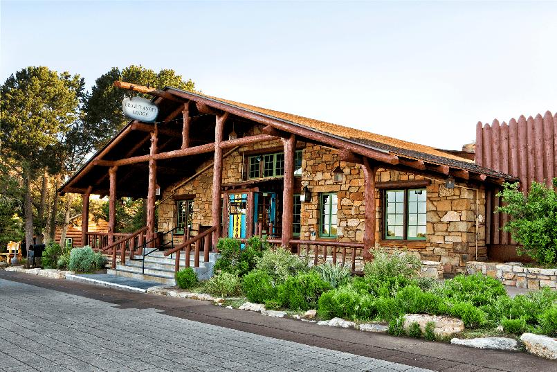 Restaurante Bright Angel Lodge no Grand Canyon