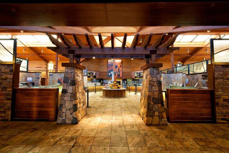 Restaurante Maswik Lodge Cafeteria no Grand Canyon