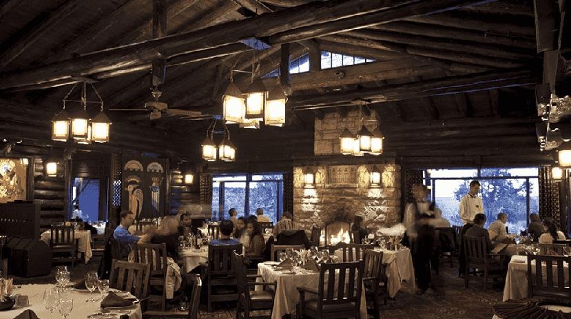 Restaurante El Tovar Dining Room no Grand Canyon