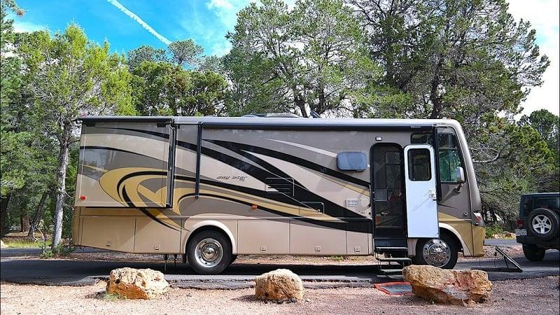 Acampamento no Grand Canyon