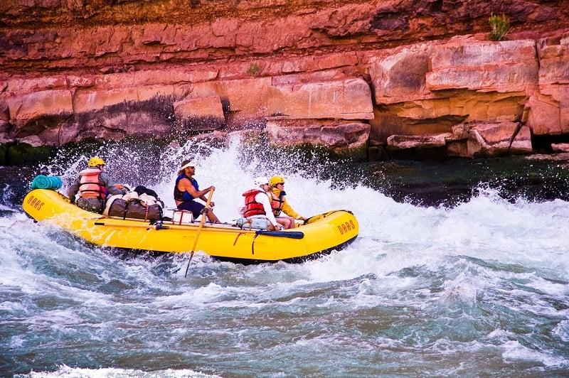 Rafting no Grand Canyon