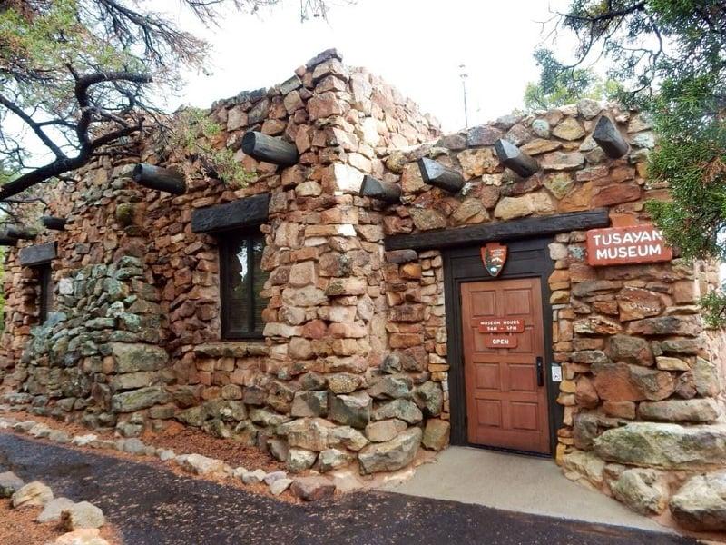 Tusayan Ruin and Museum no Grand Canyon
