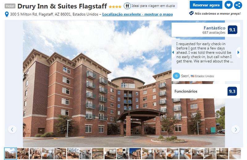 Hotel Drury Inn & Suites em Flagstaff