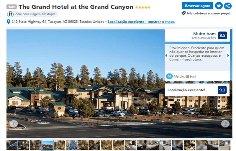 The Grand Hotel em Tusayan