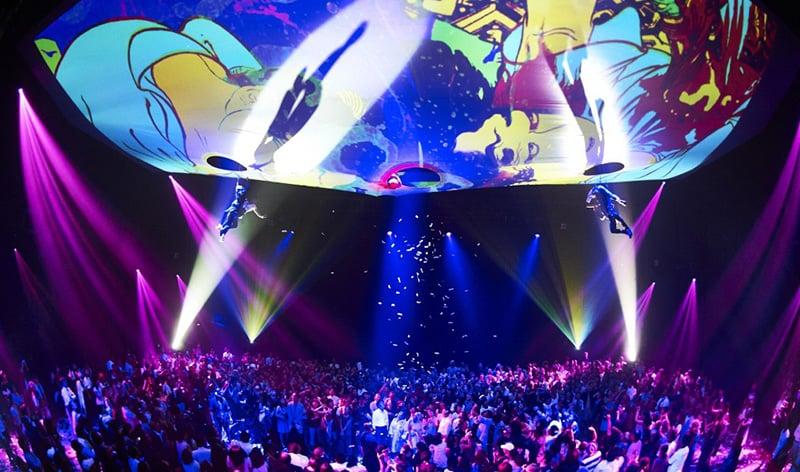 Show Fuerza Bruta em Las Vegas