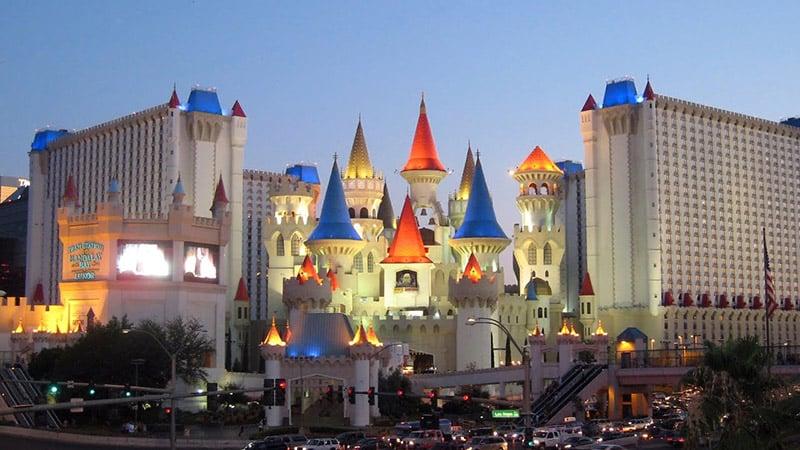 Excalibur Hotel em Las Vegas
