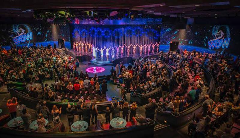 Sala Rio Showroom em Las Vegas